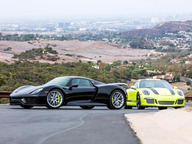 ULTIMATE PAIR OF SUPER PORSCHES WITH MATCHING SERIAL NUMBERS to be offered for sale at Bonhams auction Scottsdale