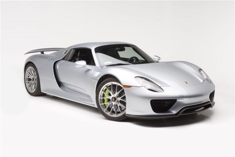 2015 Porsche 918 Spyder Barret Jackson Scottsdale