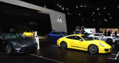 2 european premiers at the Porsches at the European Motorshow Brussels 2018