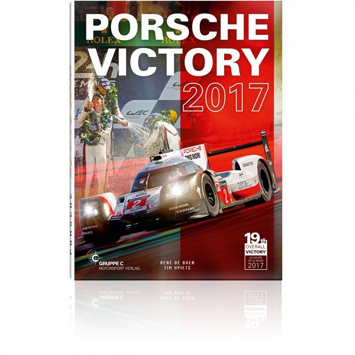 Porsche Victory 2017 Book Cover