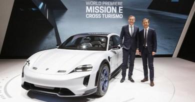 Porsche Mission E Cross Turismo Geneva