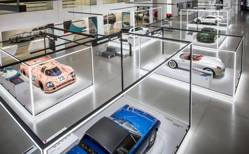 "Porsche will be hosting the first ""70 years of the Porsche sports car"" special exhibition in Berlin until May 31, 2018"
