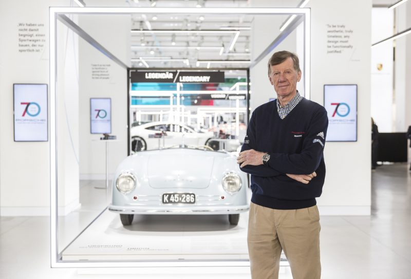 Prominent guest at the opening the two-time World Rally Champion Walter Rohrl