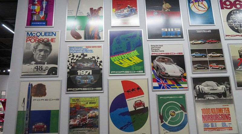 Original Porsche Posters, some of them very collectible