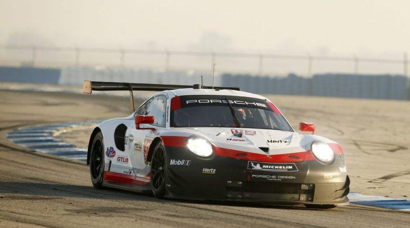 2018 Porsche 911 RSR (912), Porsche GT Team- Earl Bamber, Laurens Vanthoor
