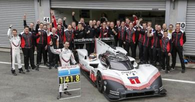 Porsche 919 Hybrid Evo, Porsche LMP Team Fastest lap francorchamps