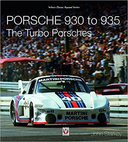 Porsche 930 to 935: The Turbo Porsches Book Cover