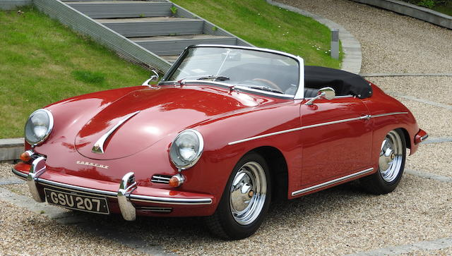 1959 Porsche 356B Roadster Bonhams Monaco Sale