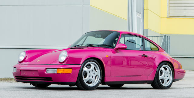 1992 Porsche 964 carrera rs Bonhams Monaco Sale