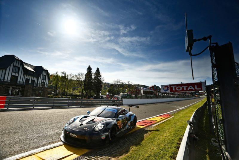 Porsche 911 RSR, Dempsey Proton Racing (77), Julien Andlauer (F), Matt Campbell (AUS), Christian Ried (D), Spa-Francorchamps 2018