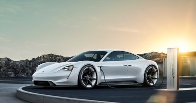Mission E: Porsche's first fully electric sports car is named Taycan