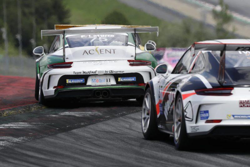 Porsche 911 GT3 Cup, Florian Latorre (F), Porsche Carrera Cup Deutschland, Spielberg 2018