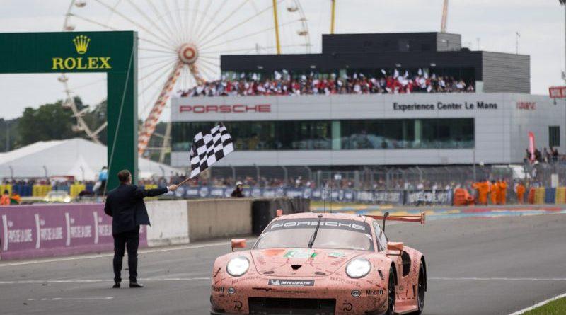Porsche 911 RSR, Porsche GT Team (92), Michael Christensen (DK), Kevin Estre (F) Laurens Vanthoor (B), Le Mans 2018