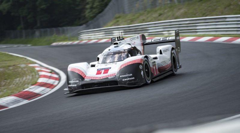 Porsche 919 Hybrid Evo, Porsche LMP Team- Timo Bernhard, Nürburgring-Nordschleife