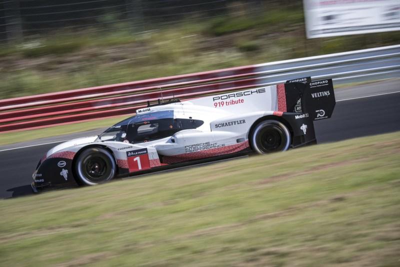 Porsche LMP Team- Nordschleife record of Timo Bernhard and the Porsche 919 Hybrid Evo 5