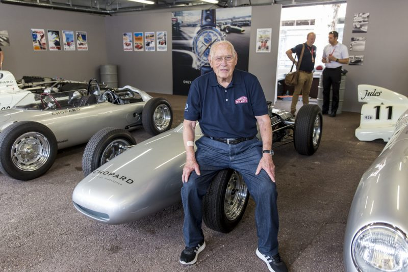 Herbert Linge , 90 years old, will be at the Porsche Sound Nacht 2018