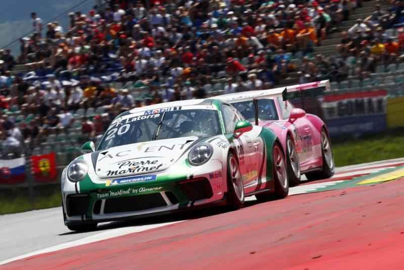 Porsche Junior Thomas Preining Celebrates Maiden Supercup Win