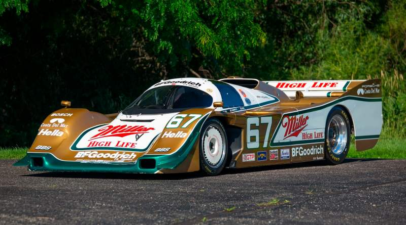 1989 Porsche 962 ex derek bell