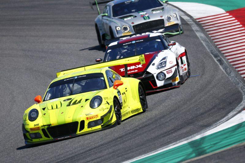 Manthey-Racing, Porsche 911 GT3 R (911) Romain Dumas (F), Frederic Makowiecki (F), Dirk Werner (D), Suzuka 2018