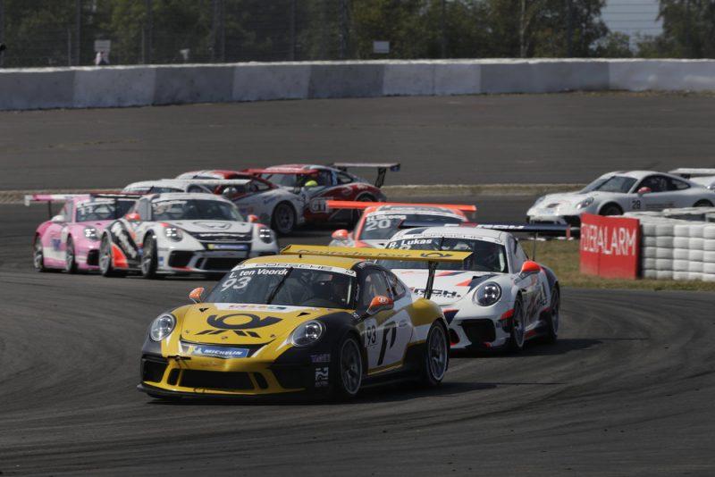 Porsche 911 GT3 Cup, Larry ten Voorde (NL), Porsche Carrera Cup Deutschland, Nürburgring I - 2018