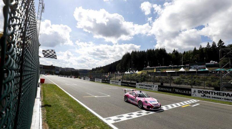 Porsche 911 GT3 Cup, Thomas Preining (A), Porsche Mobil 1 Supercup, Spa-Francorchamps 2018