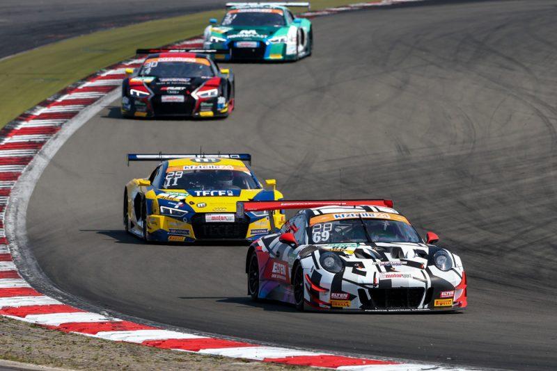 Porsche 911 GT3 R, IronForce by Ring Police, Jan-Erik Slooten (D), Lucas Luhr (D), Nürburgring 2018