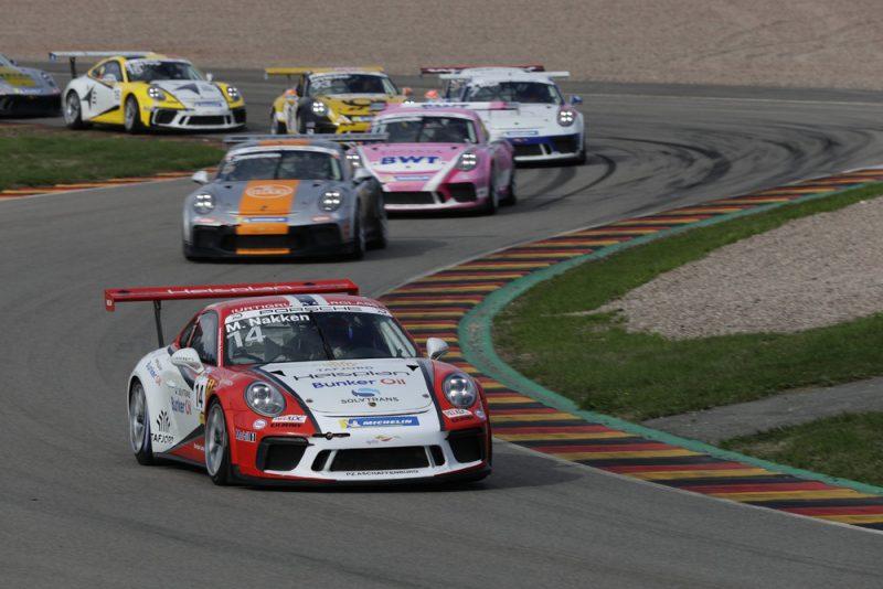 Porsche 911 GT3 Cup, Marius Nakken (N), Porsche Carrera Cup Deutschland, Sachsenring - 2018