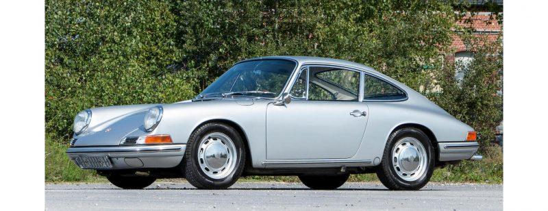 1966 Porsche 911 SWB Sunroof Coupe