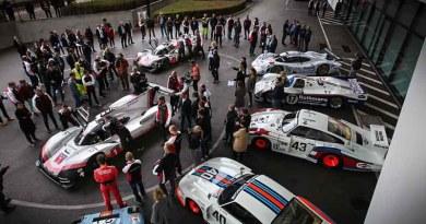 Three times Le Mans winning car on public roads in Germany