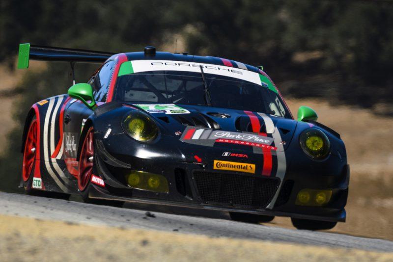 Porsche 911 GT3 R (73), Park Place Motorsports: Wolf Henzler, Spencer Pumpelly, Timothy Pappas