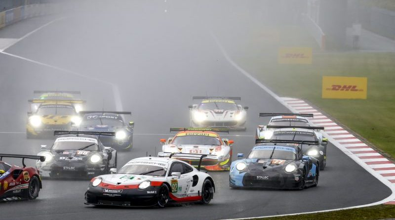 Porsche extends championship lead after win at Fuji