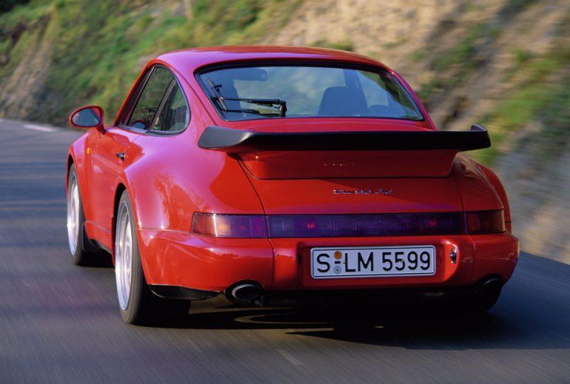 The type 964, Porsche 911 Turbo 3.6