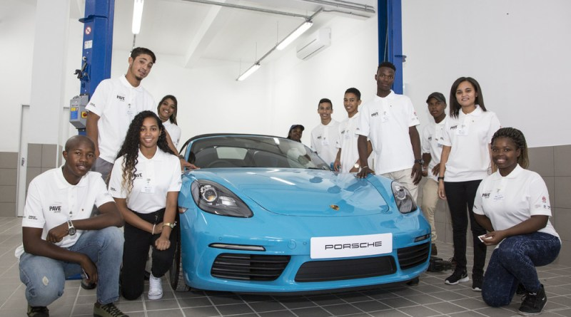 Porsche Training and Recruitment Center South Africa in Cape Town