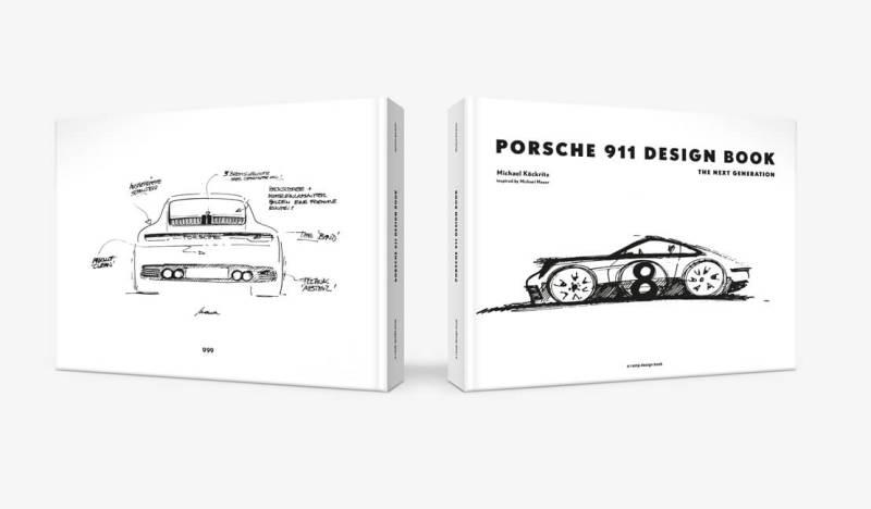 Porsche 911 Design Book - The next generation Book Cover