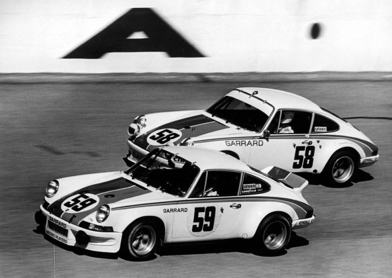 Daytona 1973, Porsche Carrera RSR, Brumos Racing (#59): Peter Gregg, Hurley Haywood