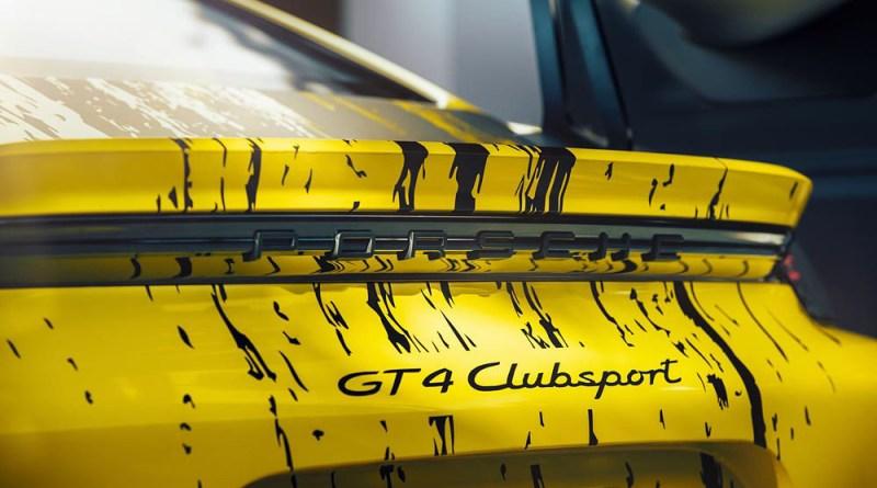 Porsche 718 Cayman GT4 Clubsport (2019)