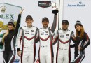 Porsche GT Team Mathieu Jaminet, Earl Bamber, Laurens Vanthoor (l-r)