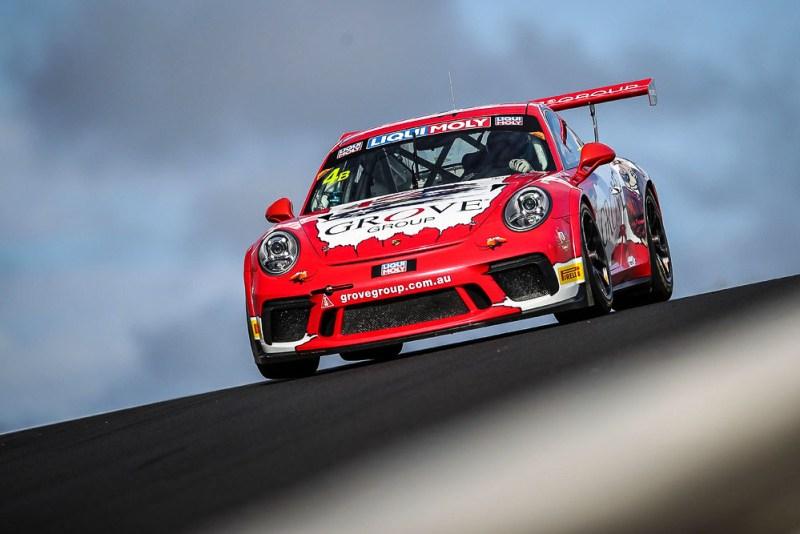 Grove Racing, Porsche GT3 Cup (4), Stephen Grove, Brenton Grove, Ben Barker