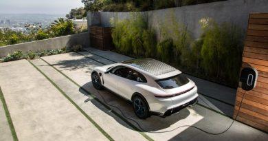 The Porsche Mission E Cross Turismo electric study now forms part of the developer platform