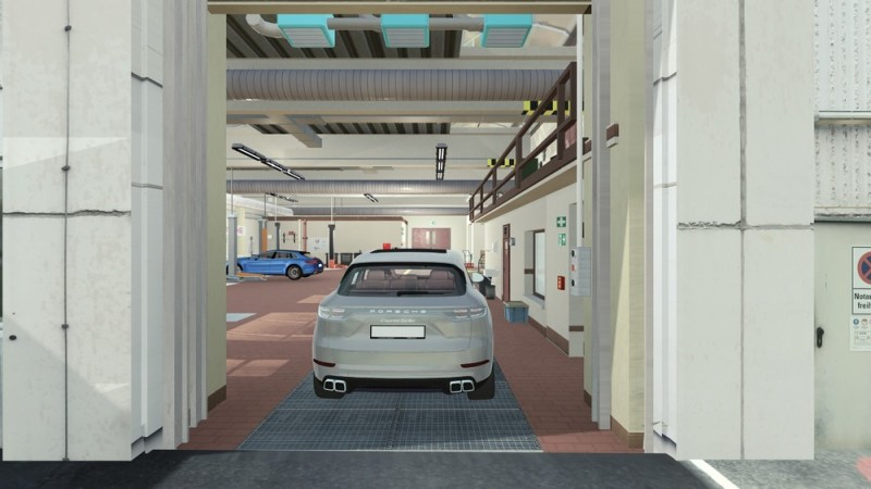 The aim of the joint project is to enable vehicles to drive from their parking space to the lifting platform and back again, fully autonomously