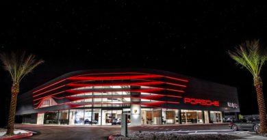 Porsche dealerships receive worldwide new corporate architecture