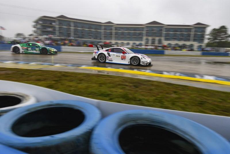 Sebring 12H - Porsche 911 RSR (911), Porsche GT Team Patrick Pilet, Nick Tandy, Frederic Makowiecki
