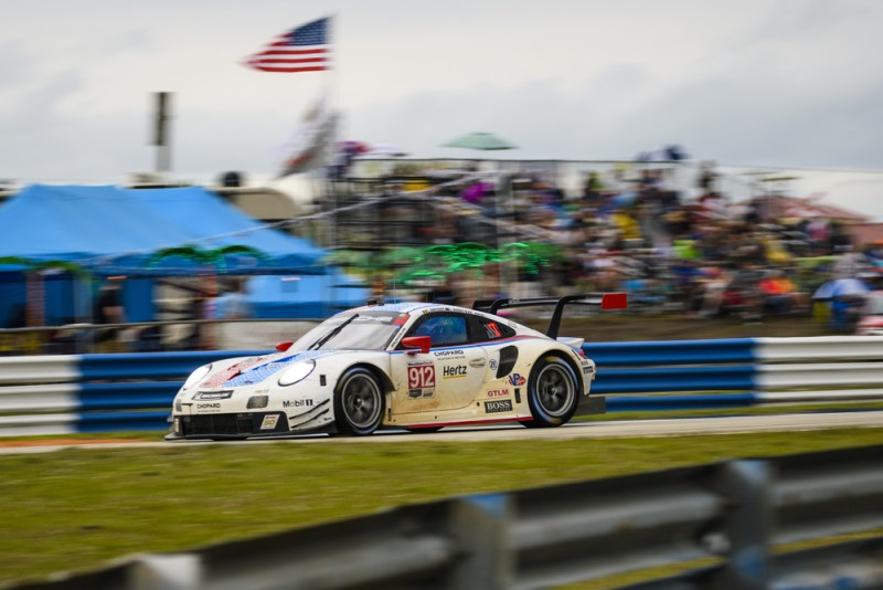 Sebring 12H -Porsche 911 RSR (912), Porsche GT Team Earl Bamber, Laurens Vanthoor, Mathieu Jaminet