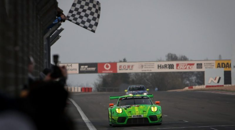 Winning weeks for the 911 RSR, 911 GT3 R and 718 Cayman GT4 Clubsport
