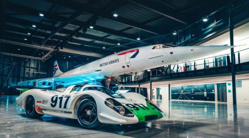 Porsche 917 meets the Concorde