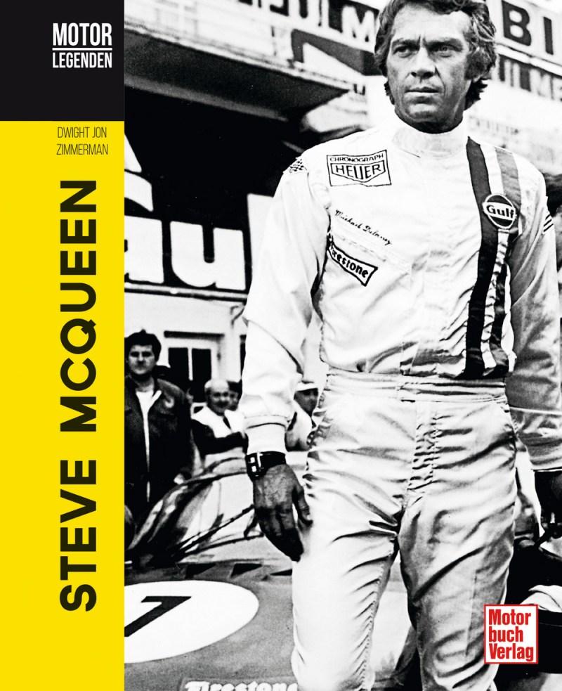 Motorlegenden - Steve McQueen Book Cover