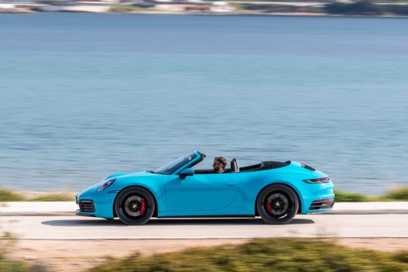 The new Porsche 911 Cabriolet