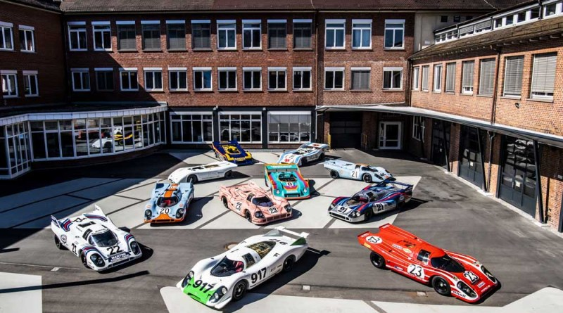 """New special exhibition """"50 Years of the Porsche 917 – Colours of Speed"""""""