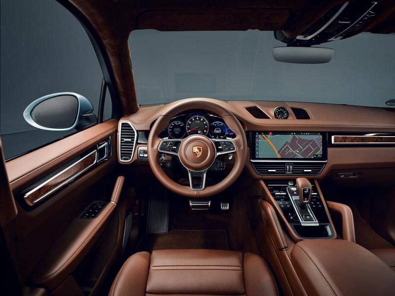 Interior Porsche Cayenne S Coupé