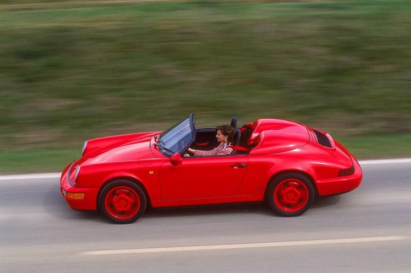 Porsche 911 Carrera 2 3,6 Speedster, model year 1993